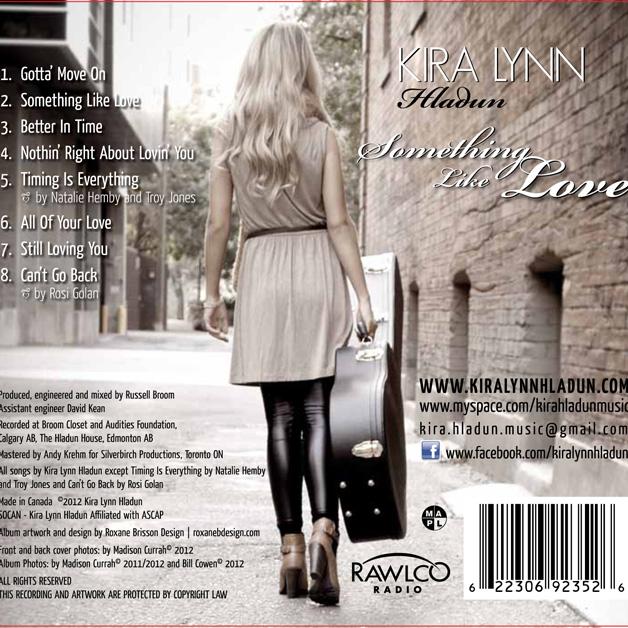 Album Back Cover Design