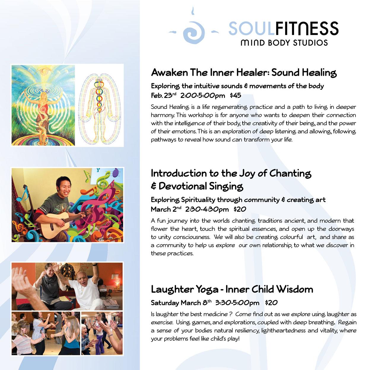 Sound Healing Poster Design